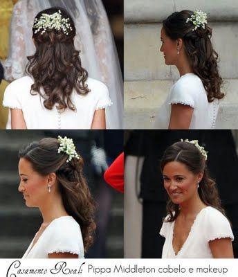 Pippa Middleton - Hair style - love it.