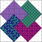 McCall's quilting site has fantastic directions for quilting blocks.