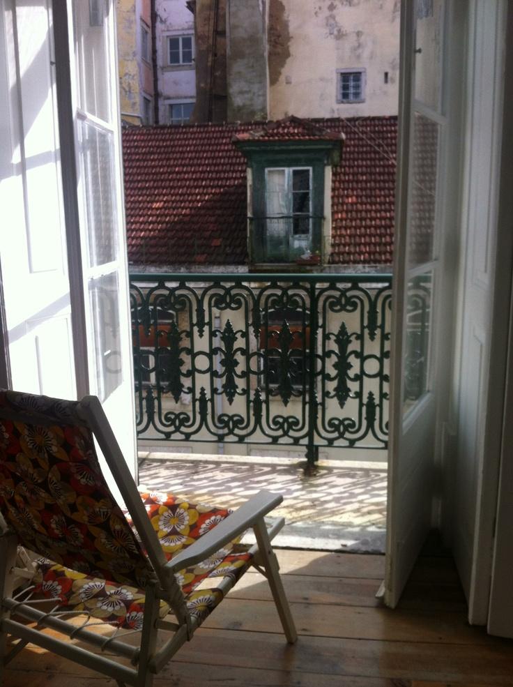 Enjoy the sun from Campo Grande apartment, Baixa House, Lisbon http://baixahouse.com