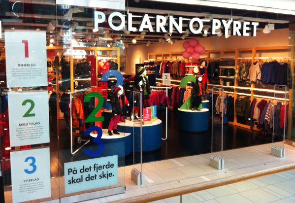 Polarn O. Pyret sin butikk på Sirkus shopping får reparert en del glidelåser hos oss. Skredderen i P1 syr i nytt glidelås i matchende farge.