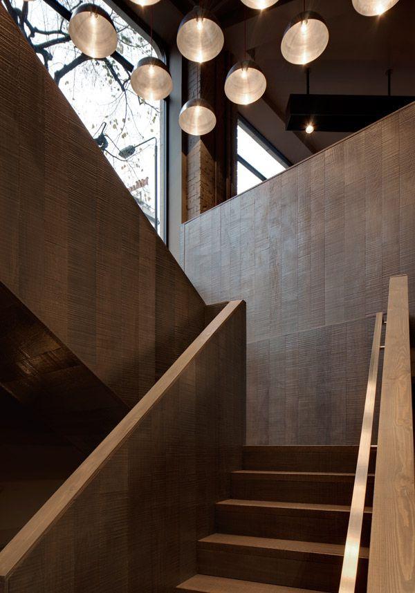 Wood texture - stairs - Piero Lissoni