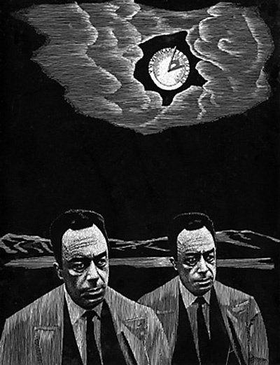 best camus portraits et al images albert ldquothere is scarcely any passion out struggle rdquo 8213 albert camus the myth of sisyphus and other essays