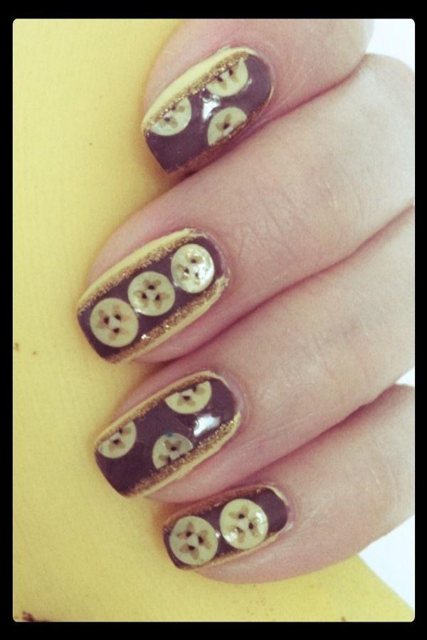 Banana Split Nails: weird or like? Let me know:D