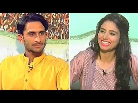 Cricket Hero Hassan Ali - Eid Dunya Key Sang - Eid Special Day 3 - 28 June 2017- Dunya News