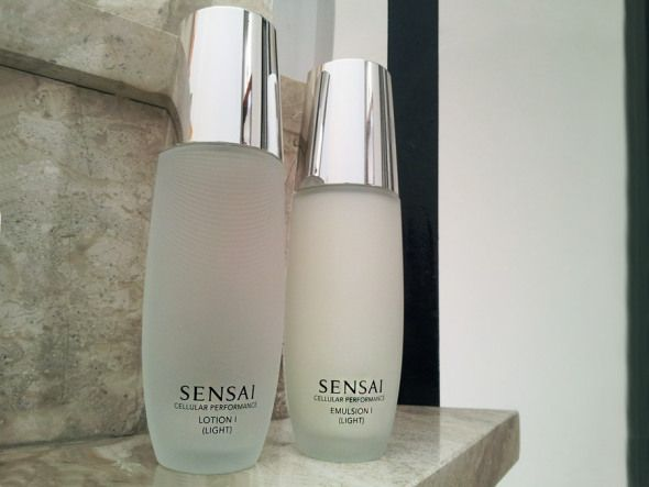 Sensai's Lotion I & Emulsion I, ©beautyworkshop.gr
