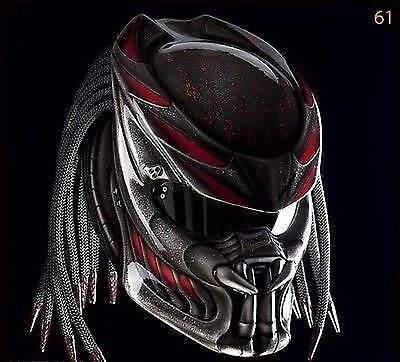 AMAZING PREDATOR HELMET CUSTOM DOT APROVED #CELLOSHELMET