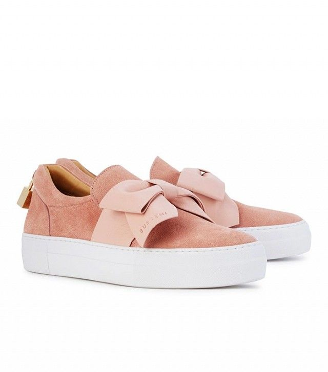 Love, Want, Need: Buscemi's Sweet Bow Sneakers   WhoWhatWear UK