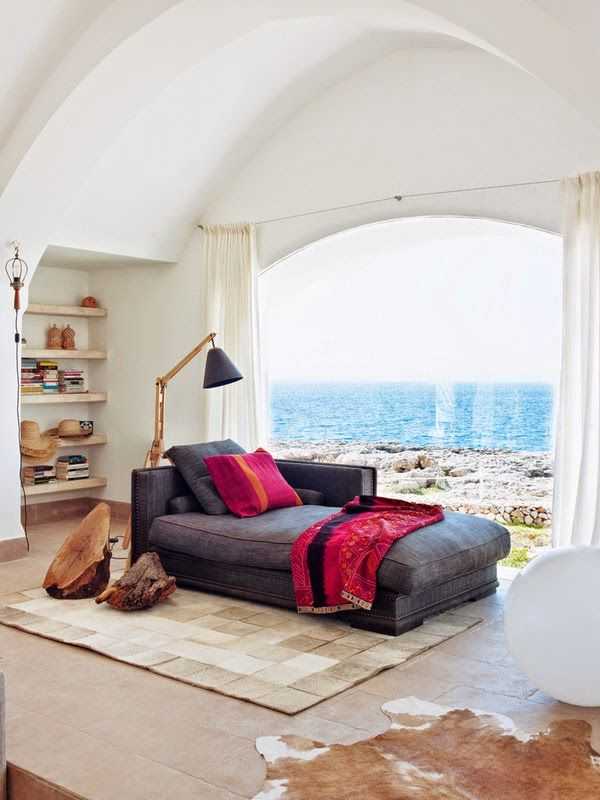 Sea of Girasoles: Interior: house in Menorca*
