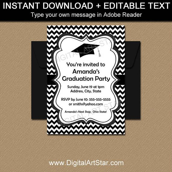 17 καλύτερα ιδέες για Graduation Announcement Template στο Pinterest - announcement template free
