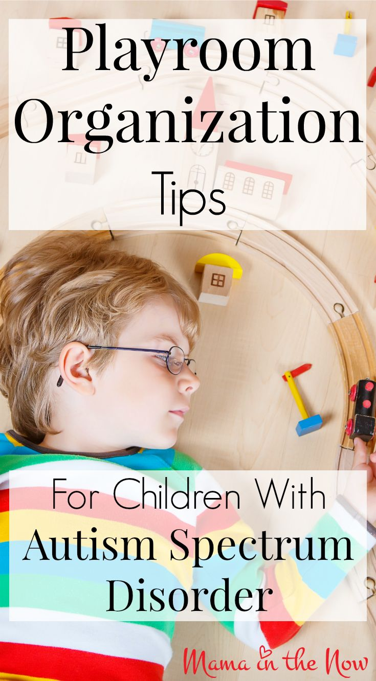 "Play room organization tips for children with autism spectrum disorder (""ASD""). This system gives special needs children the structure and routine they need to thrive."