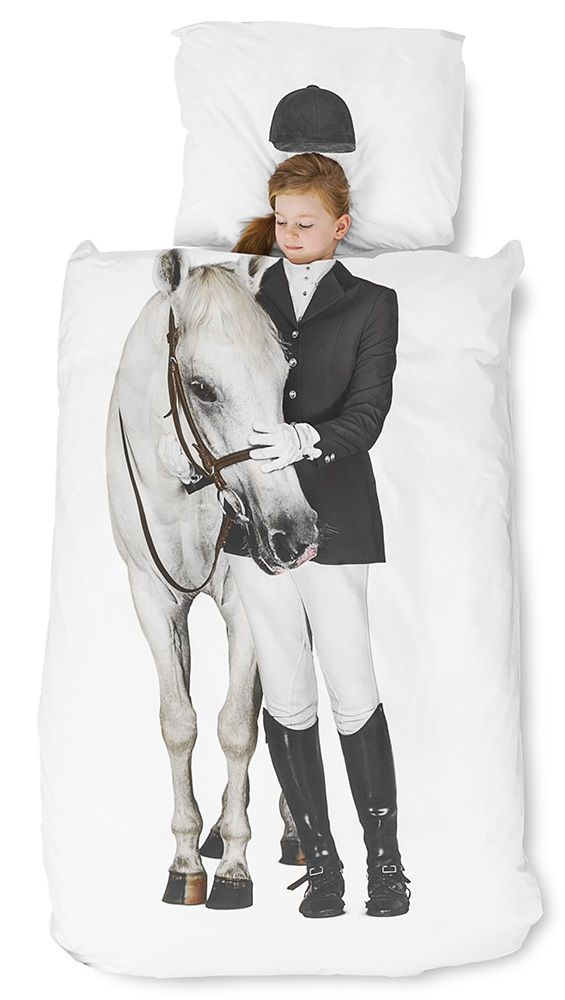SNURK Children's Horse Duvet Bedding Set                                                                                                                                                     More