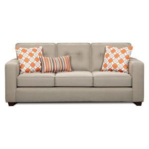 Nebraska Furniture Mart – Xenia Furniture Sofa in Dude Grey