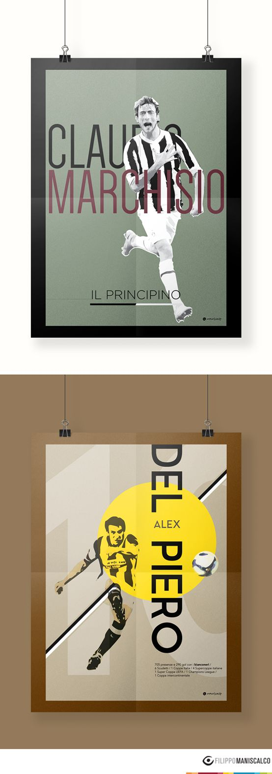 Collection of nine players on the illustrations of the 'Series A, the most beautiful championship in the world'. Graphic reproductions made through different styles. #SerieAPoster #DelPiero #Juve #Marchisio #FCJuventus    In Stock $33.28