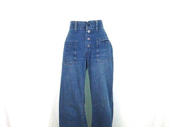 Rare COWBOY Mickey Mouse Jeans, Vintage Disney Clothing, 70s Jeans, Mens Jeans, Disney Jeans, Wide Leg Bell Botton Jeans, Southwestern Style