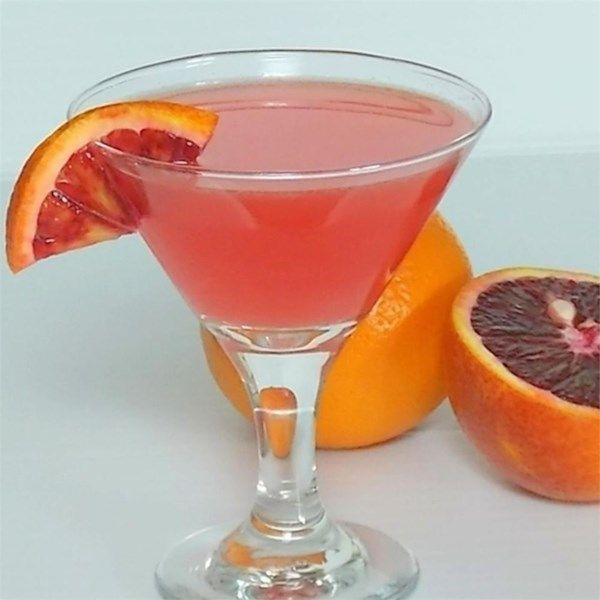 """Vicki's Tangerine Martini 