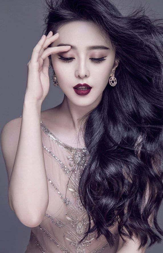 Chinese actress Fan Bingbing in Ralph Lauren Collection in Marie Claire Hong…