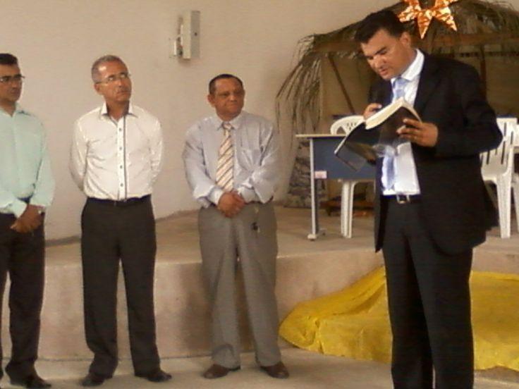 Culto Divino despedida do Pastor Fabio Lazaro.  13/12/2014.