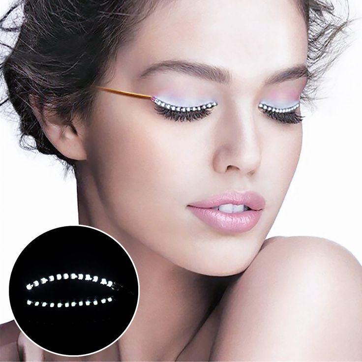 TBTeek Wearable electronic LED eyelash