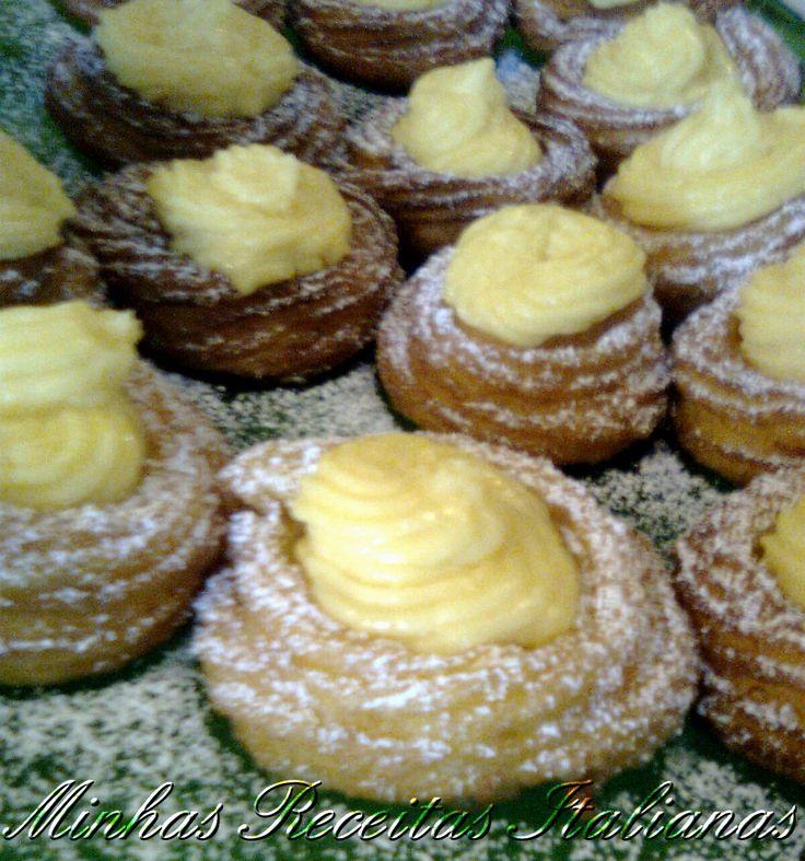 """Aqui na Italia o dia dos pais è 19 de março, dia de sao Jose. Cada regiao tem seu doce tradicional para a """"festa del papa"""" mas o mais co..."""