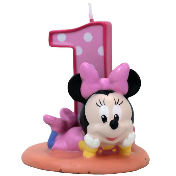 Baby Minnie Mouse Candle