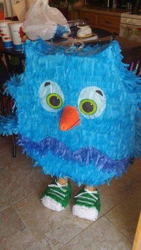 Great o the owl piñata