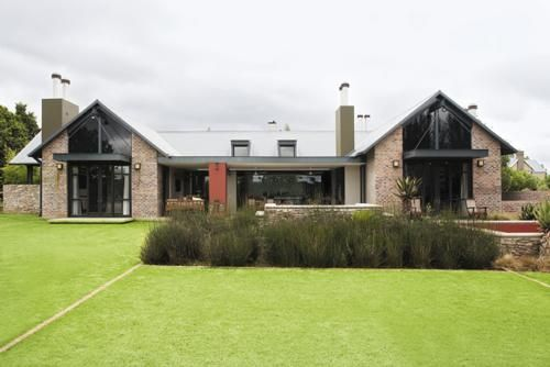 Garden and home architects plan on pinterest discover for Modern south african home designs