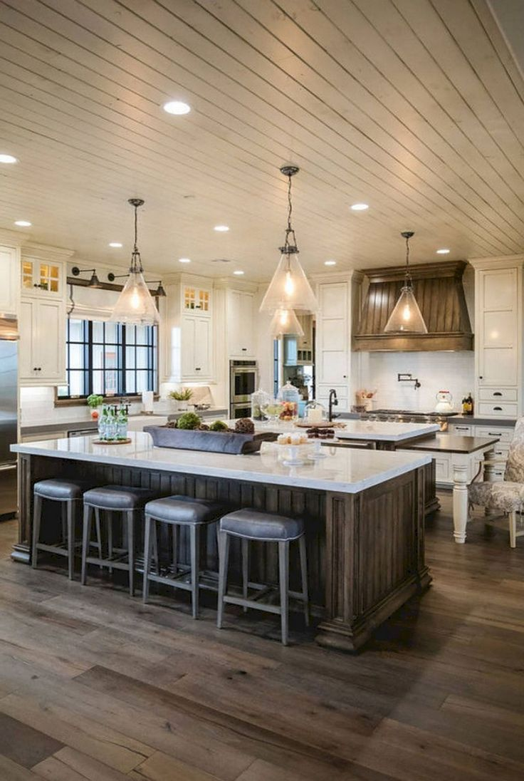 12 charming farmhouse kitchens to inspire your next on best farmhouse kitchen decor ideas and remodel create your dreams id=81103