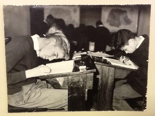 Colégio Estadual do Paraná - Alunos em sala de aula 1963