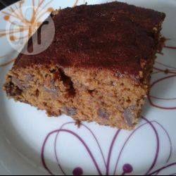 Amerikanischer Date Loaf / Ein sehr saftiger, leicht klebriger Dattelkuchen, der ohne Eier oder Milchprodukte gemacht wird, also sehr gut für Allergiker geeignet.Cake @ de.allrecipes.com