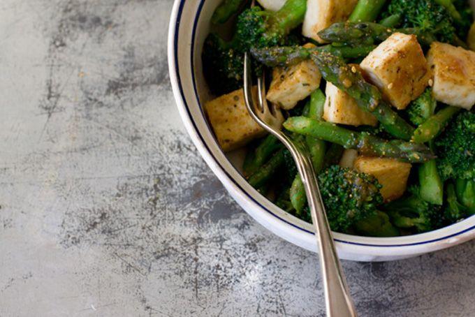 Miso Vegetables & Tofu