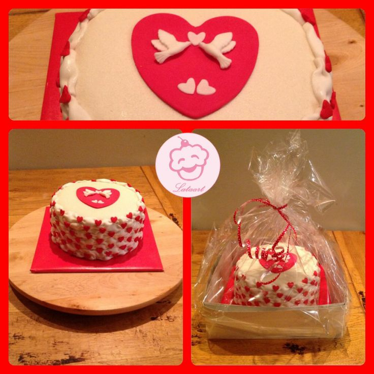 Valentijns taart - Lataart