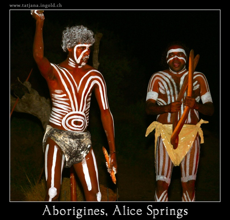 Aborigines, Alice Springs, Australia