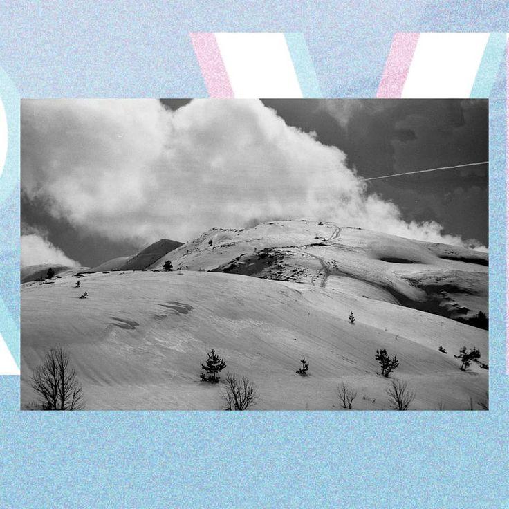 """...Swept by the sun..."" ----------------------  The VAPORWAVE Series  Canon T-90  300mm  Ilford XP2 Super Black and White Negative Film  Mount Kongur Belasitsa Mountain  Photoshop  InDesign ---------------------- #vaporwaveaesthetic #vaporwave #vaporwaveart #vaporwaver #vaporwave #minimalistics #photography #grainisgood #shootfilm #buyfilmnotmegapixels #blackandwhitephotography #collage #collageart #collagecollective #300mm #300mmonfilm #iso400 #canon #canont90 #photoshop #indesign #adobe…"