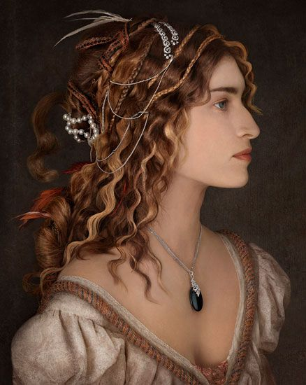 Peter Lippmann :: photographer :: MARIE CLAIRE 2 / #elf #preraphaelite                                                                                                                                                     More