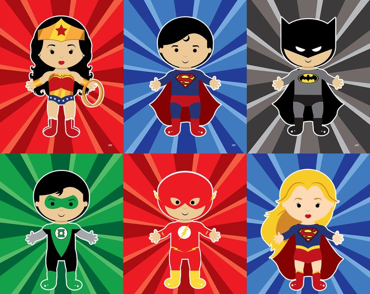 Baby Justice League Prints