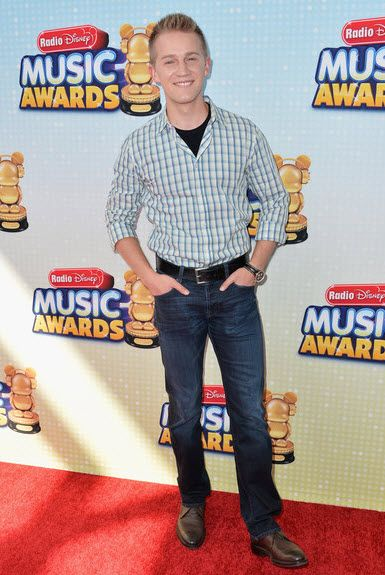 Jason Dolley At The Radio Disney Music Awards