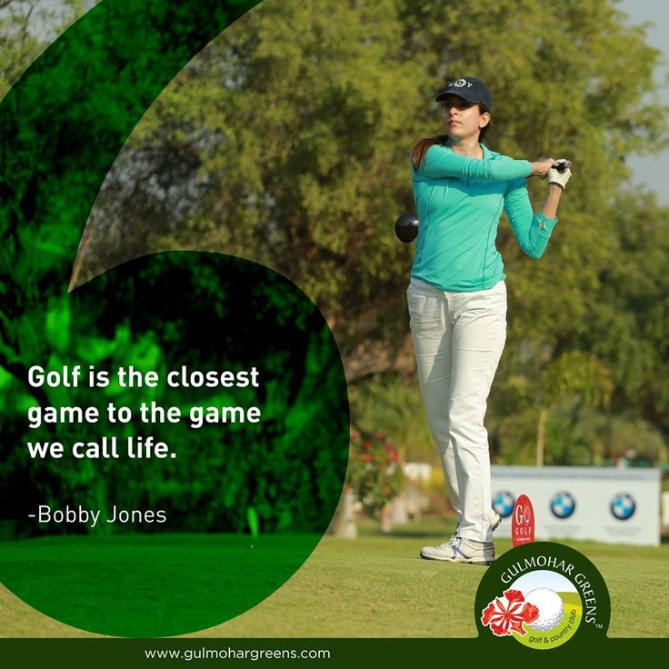 #GolfQuote You get bad breaks from good shots and good breaks from bad shots. But, you have to play the game wherever it lies.