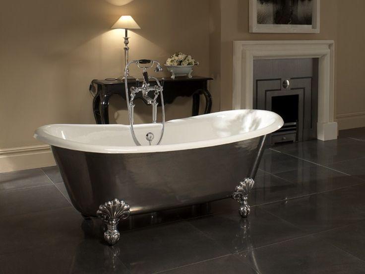 Le 25 migliori idee su vasca da bagno in ghisa su pinterest vasche camere da letto padronali - Vasca da bagno in cemento ...