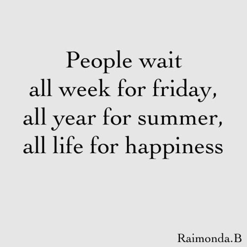 enjoy the now