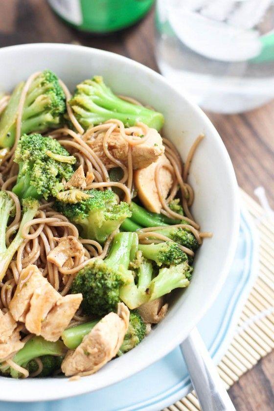 Chicken Soba Noodle Stir-Fry