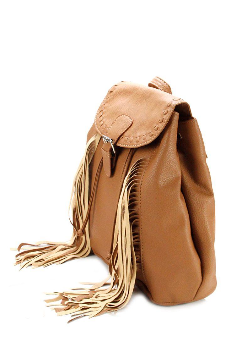 tassel back pack