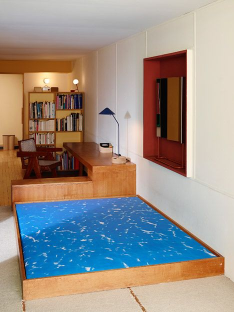 ÉCAL students take over Apartment N°50 at Le Corbusier's Cité Radieuse.