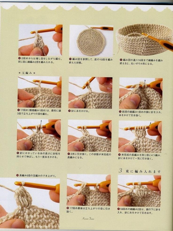 Perfecto Patrón De Crochet Para El Monedero Ornamento - Manta de ...