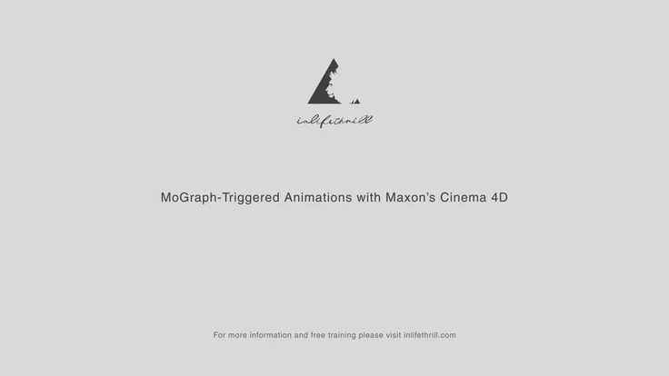 Cinema 4D Quick Tip #10 - MoGraph-Triggered Animations on Vimeo