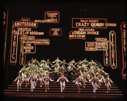 42nd Street - a tribute to all that was fabulous musical theater in the 30's and 40's.