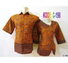 Untuk pemesanan batik sarimbit untuk Pesta :  silahkan sms (Kode Batik + Size + Nama + Alamat) Contoh: ORDER C 25, SIZE COWOK L, CEWEK M,