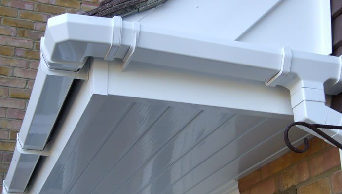 Pvc Aluminum Guttering Repair Services Have Got The Skills And Right Tools How To Install Gutters Pvc Gutters Gutter Repair