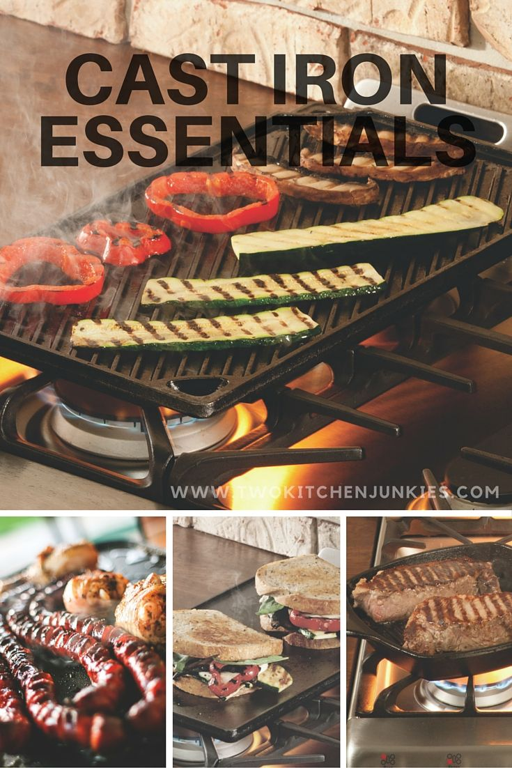 The best Cast iron skillets and griddles: Cast iron Skillets and Griddles are a handy addition to your kitchen . Read what we have to say about these two pieces of cookware.