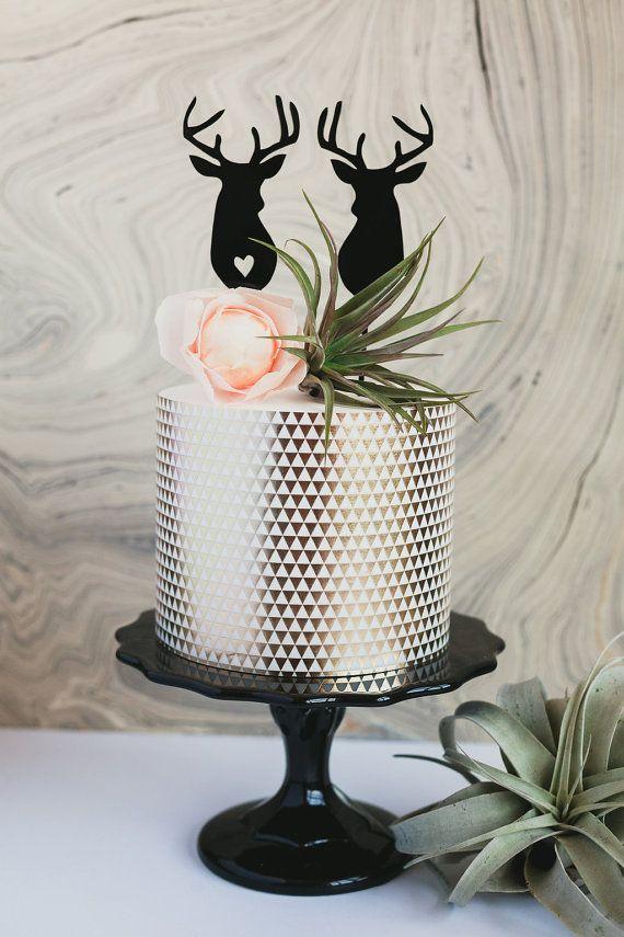 Http Onefabday Com Diy Glitter Wedding Cake Topper Best Day Ever