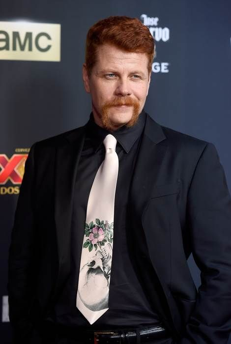 Michael Cudlitz attends the Season 5 premiere of The Walking Dead at AMC Universal City Walk on October 2, 2014 in Universal City, California.